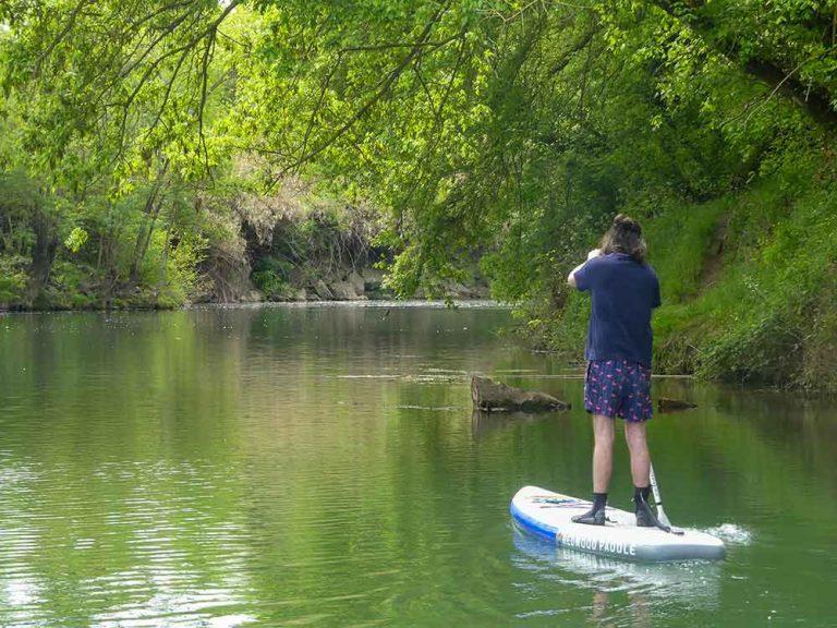 paddle sur l'Hérault