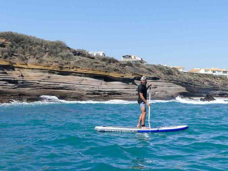 paddle sur le Cap d'Agde
