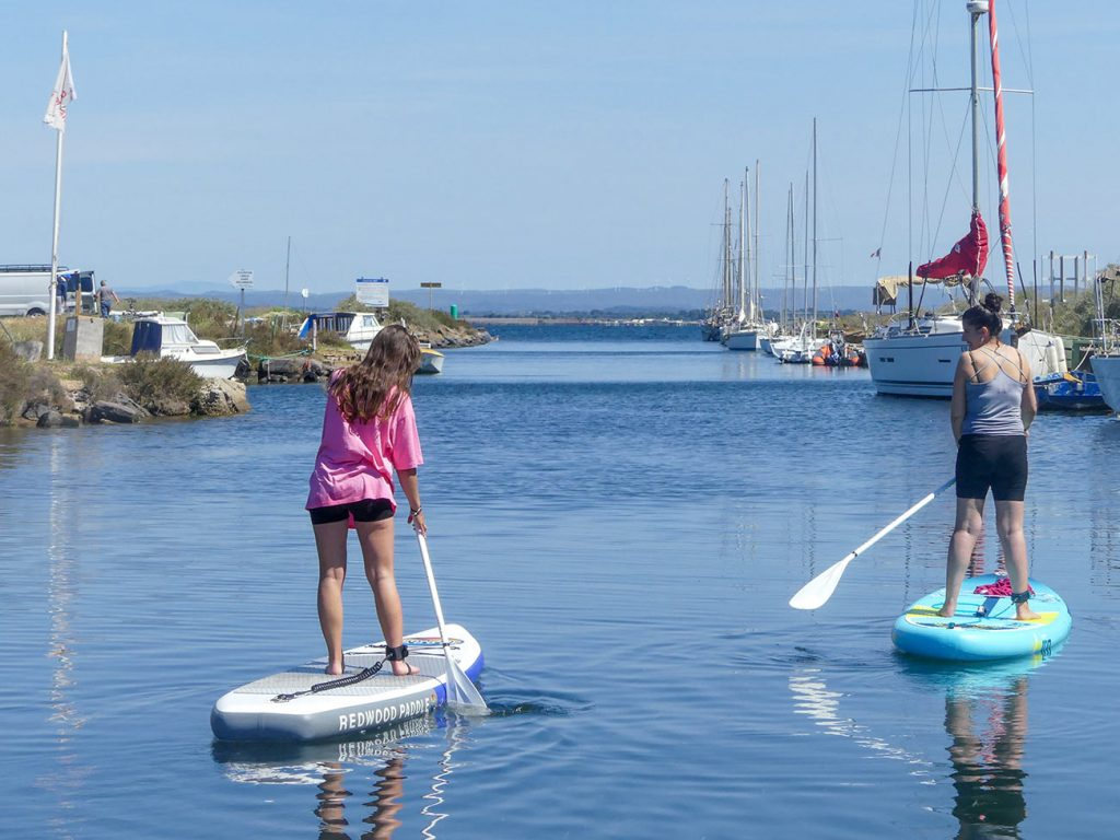 Cours collectif stand up paddle